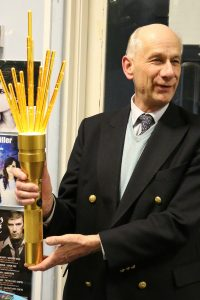 sir John Clerk with torch