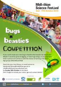 MSF2015 bugs & beasties competition poster