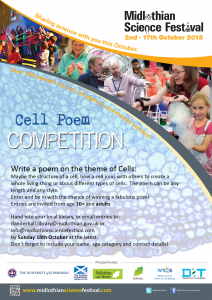 MSF2015 cell poem competition poster