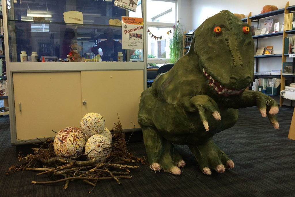 Dino Day in Dalkeith