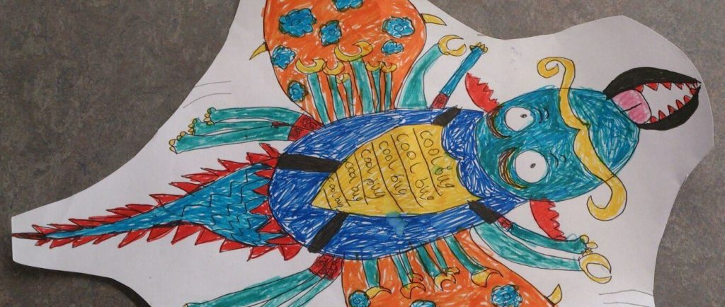 Bugs competiton winner 9-12years - Dominic Forest