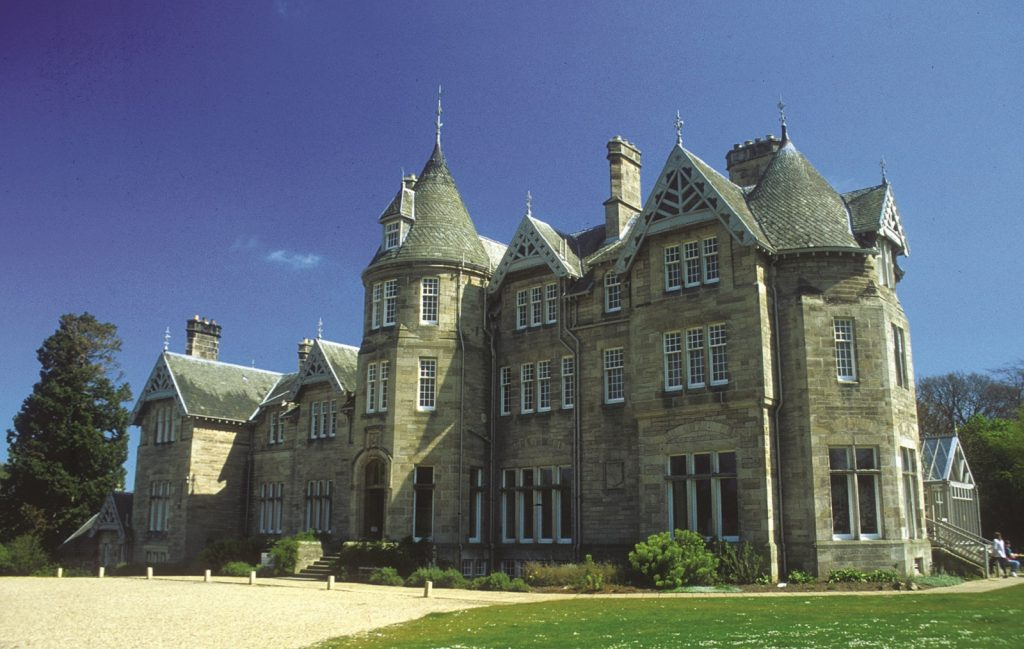 Photograph of Vogrie House, a Large Victorian Mansion/country house