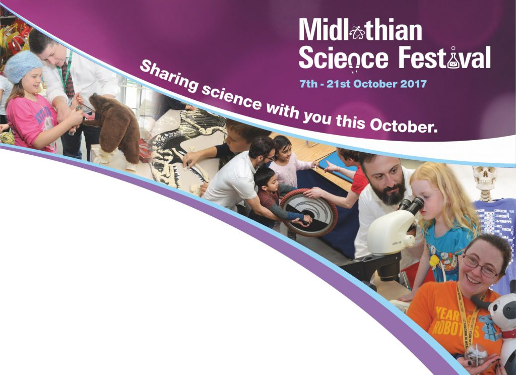 Midlothian Science Festival 2017 Shell Poster Header